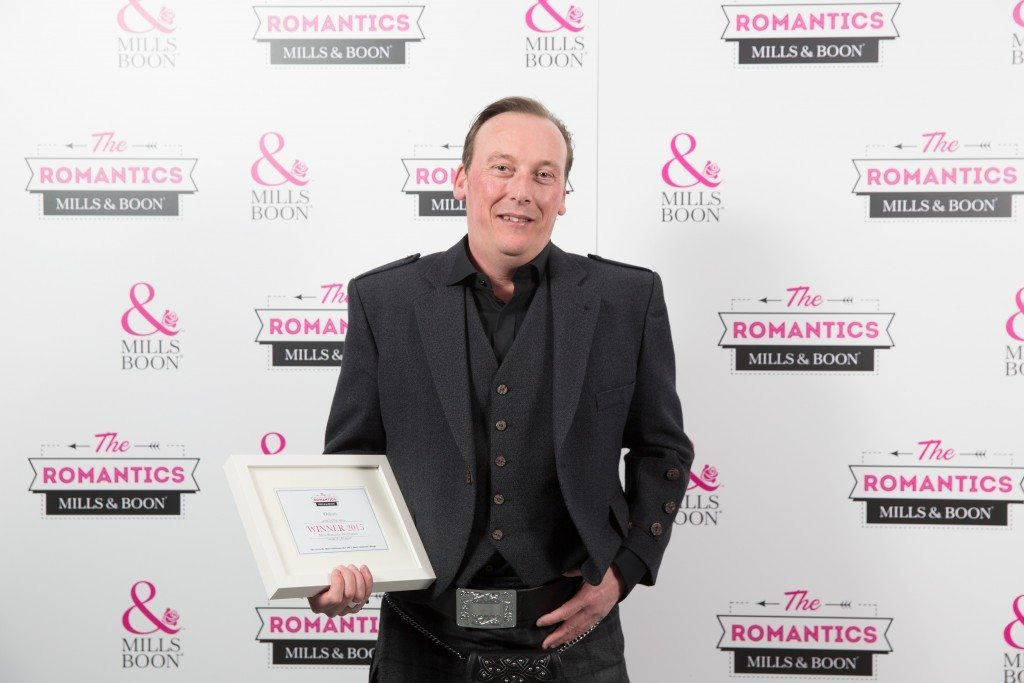 'The Romantics' awards by Mills & Boon, 29th April 2015.